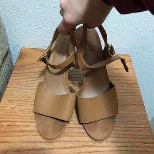 Old Navy Open toed heels